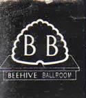 Beehive Ballroom B&W