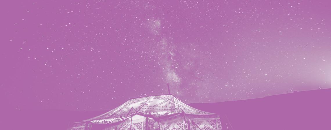 Stargazing Tents at Nightfall 2016