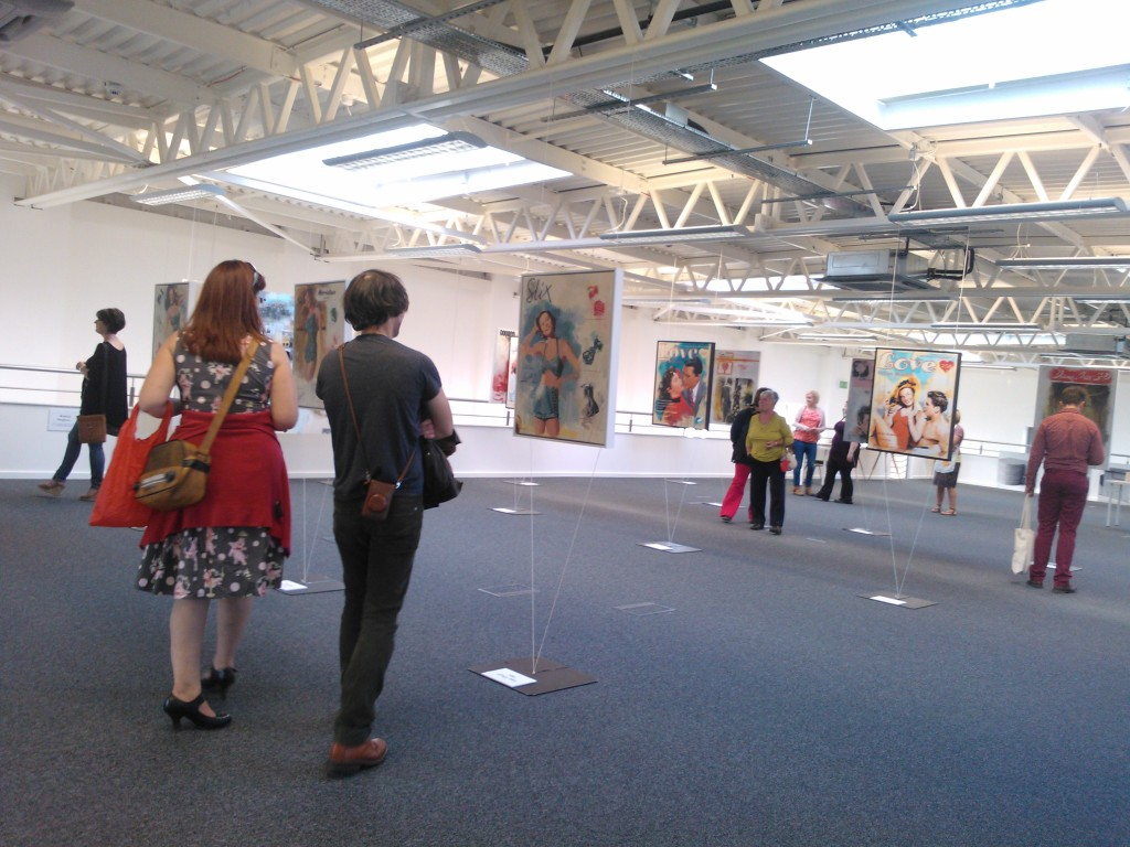 Lingfield Point Residency exhibition at Festival of Thirft event