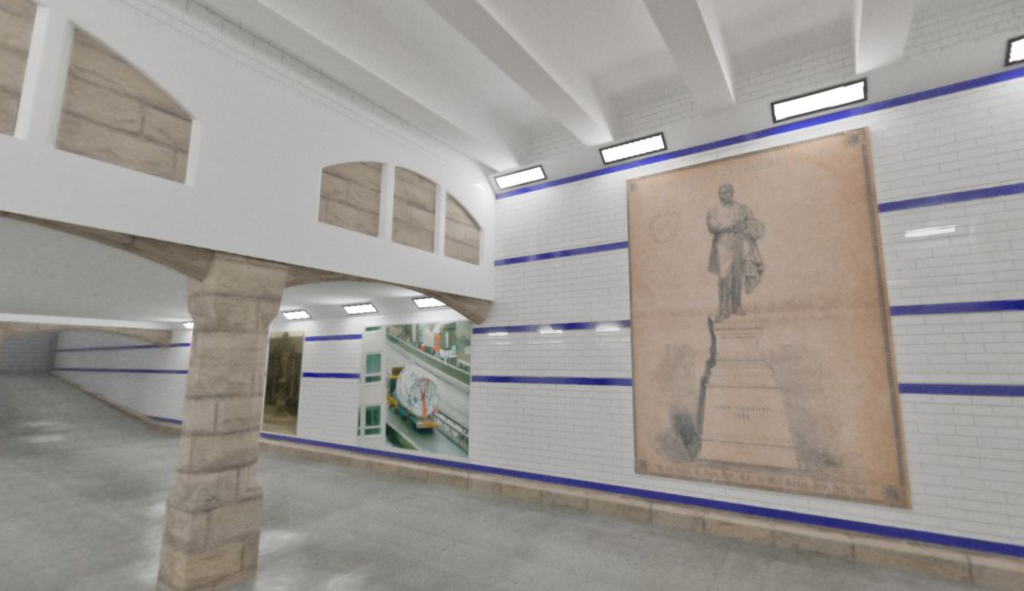 North East Statues Tunnel Gallery Commission